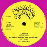 Frankie Jones & The Nazarines - Company / Phillip Frazer - Mr Wicked Man (Freedom Sounds) UK 12""
